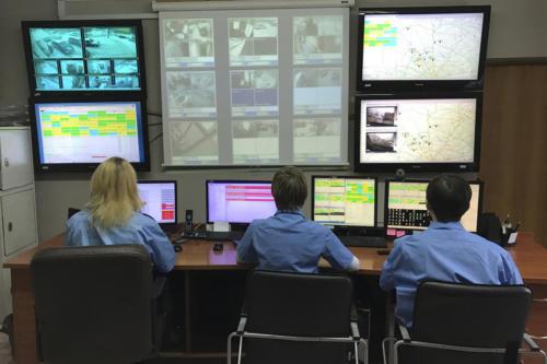 Мониторинговый центр. Охрана.